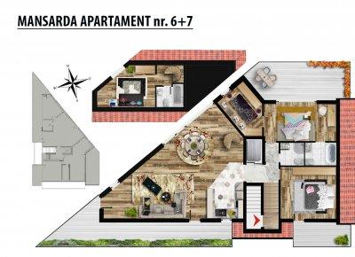 Apartament 5 Camere - 4A