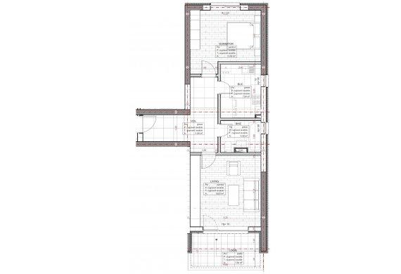 2 Camere Apartment - C2.8B