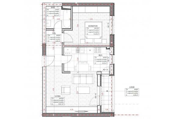 Apartament 2 Camere - C2.3.2B