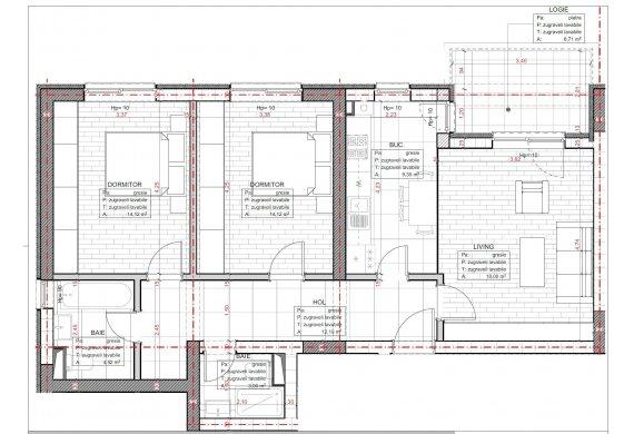 Apartament 3 Camere - C2.1.1C