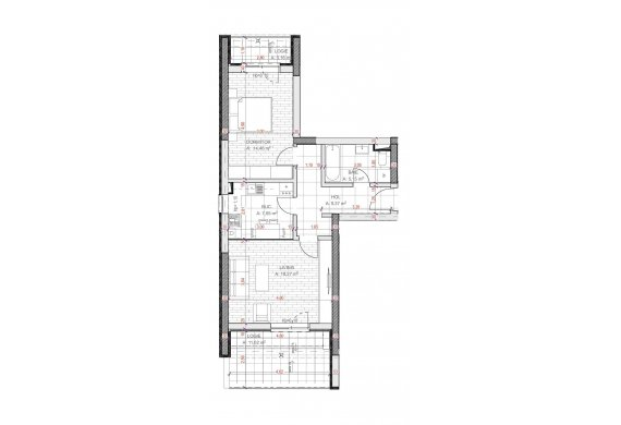 Apartament Studio - C2.6B