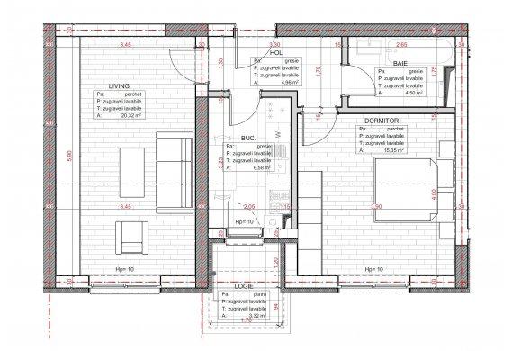Apartament 2 Camere - C2.3C.2