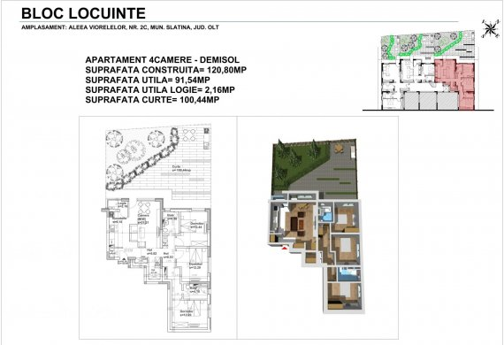 Apartament 4 Camere - 4CTIP1