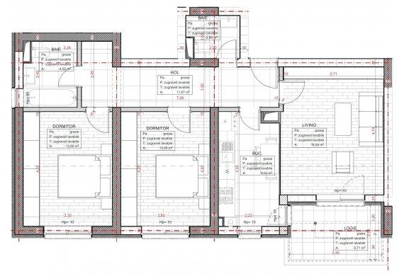 Apartament 3 Camere - C2.1.1D