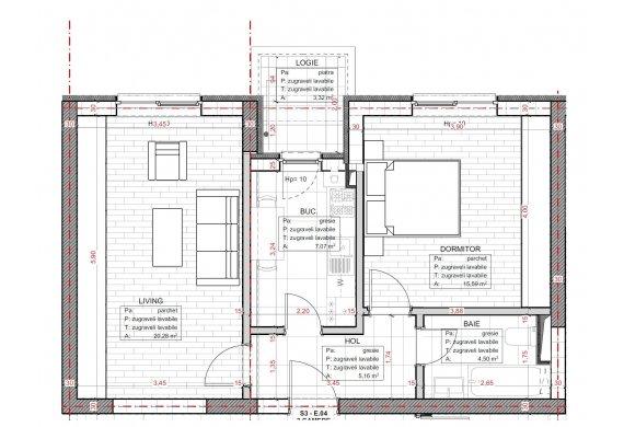 Apartament 2 Camere - C2.3D.3