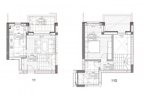 Apartament 2 Camere - C2.D.1B
