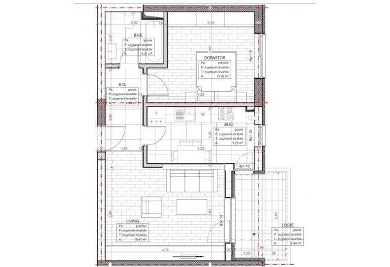 Apartament 2 Camere - C2.3.3D