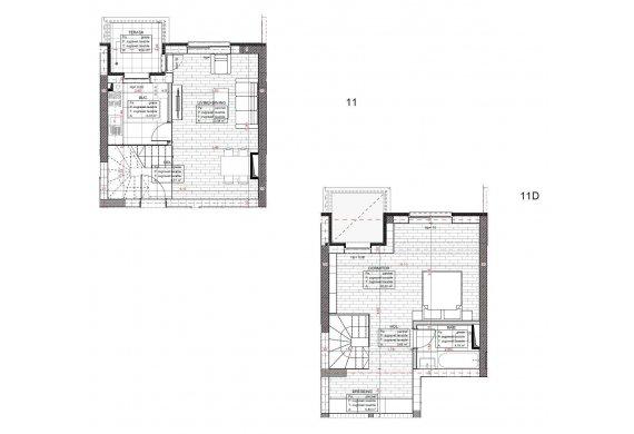 Apartament 2 Camere - C2.D.2D