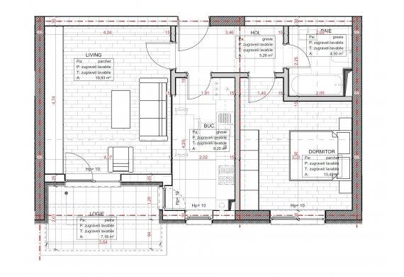 Apartament 2 Camere - C2.3.5D