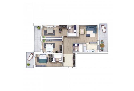 Apartament 4 Camere - 4G