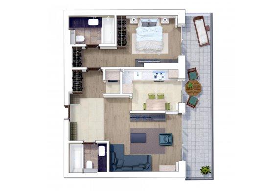 Apartament 2 Camere - 2L