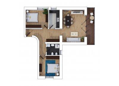 Apartament 3 Camere - Mountains Suite - Etaj 1