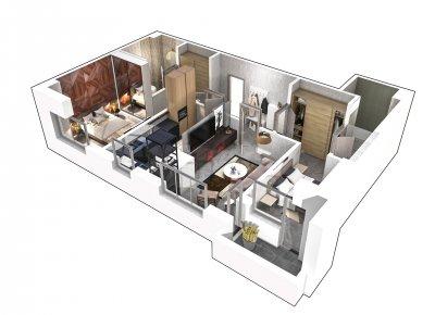 Apartament 3 Camere - 3B Scara 2