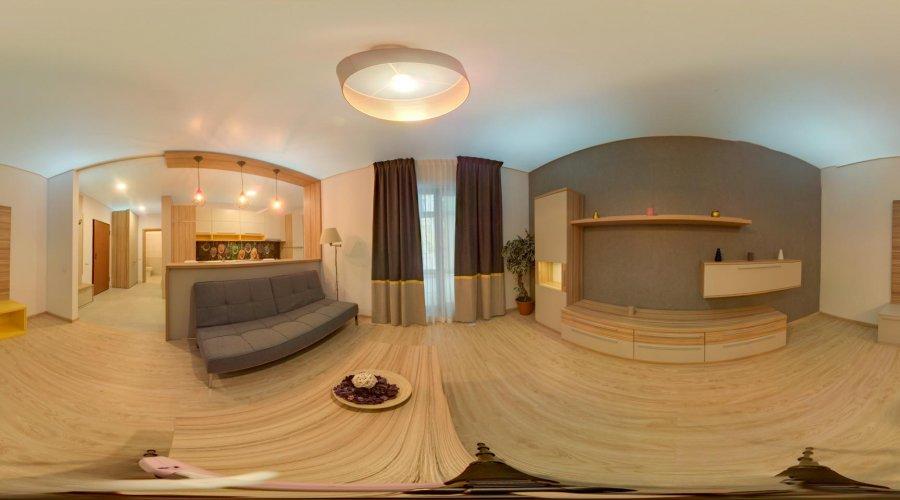 1-bedroom apartment semidetached