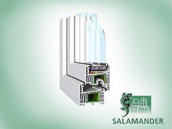 Ferestre cu geam termopan SALAMANDER